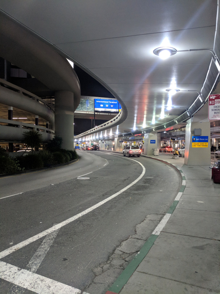 Airport scenery