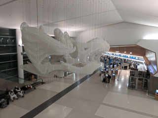 Kendall Buster, Topograph (2011). At SFO, Terminal 2.