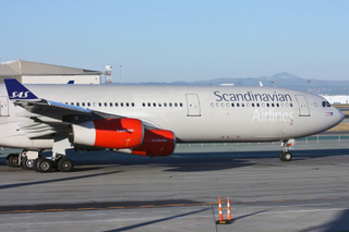 "Scandinavian Airlines - SAS Airbus A340-313 LN-RKG  ""Gudrod Viking"""