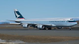 Cathay Pacific Cargo Boeing 747-8F B-LJI