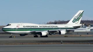 Evergreen International Boeing 747-400 N493EV