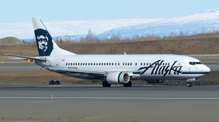 Alaska Airlines Boeing 737-400 N708AS