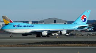 Korean Air Cargo Boeing 747-400F HL7434
