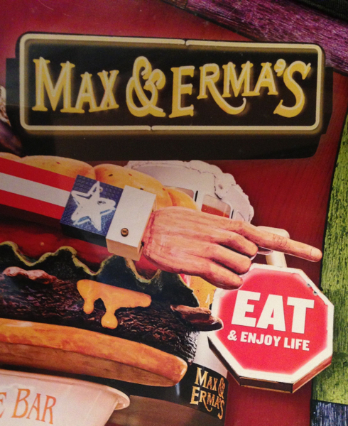 Max & Erma's, fine dining at Dayton International Airport.
