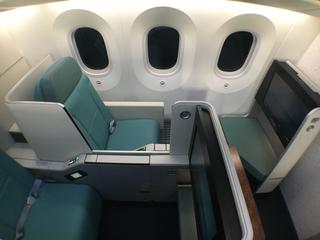 Korean Air 787-9 Business Class
