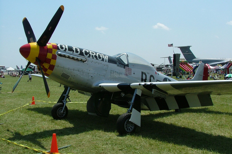 Old Crow P-51 Mustang