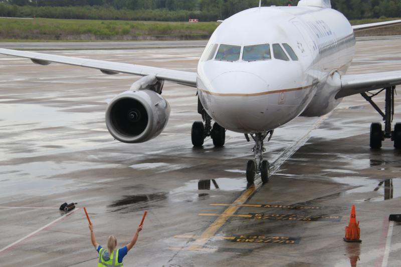 Scenes from Charleston International Airport (Charleston, S.C.) - Tuesday April 10th, 2018