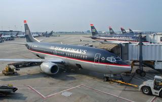 US Airways B737 in Charlotte NC