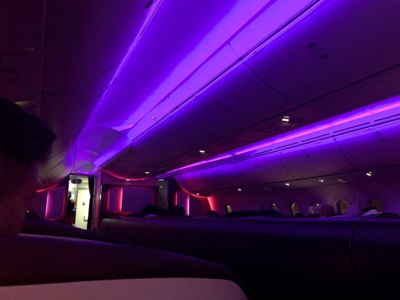 Virgin Atlantic Upper Class 20