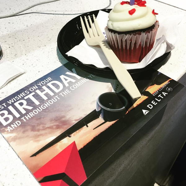 Birthday wishes from Delta!