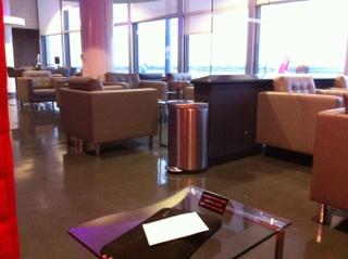 Virgin America Loft at LAX