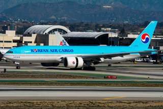 Korean Air Cargo Boeing 777