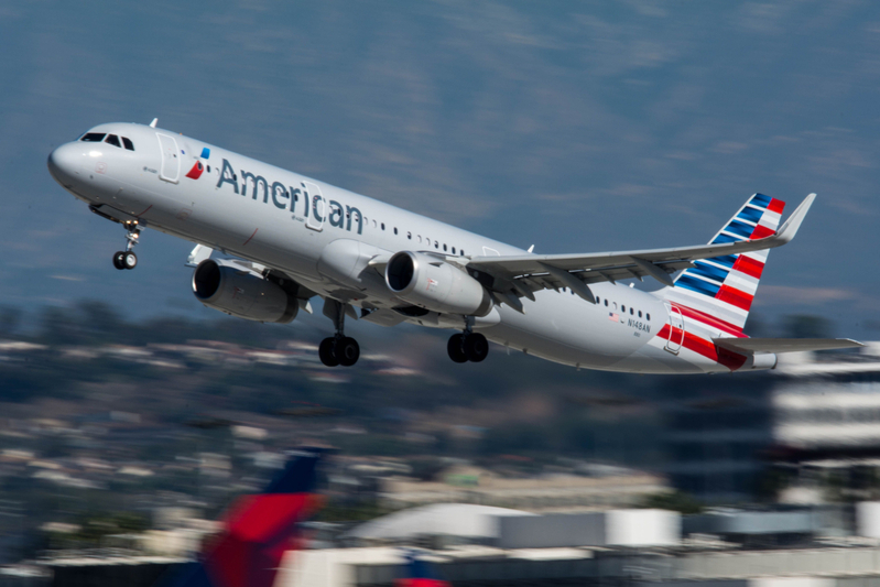 American Airlines Airbus A321