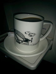 Virgin Atlantic coffee