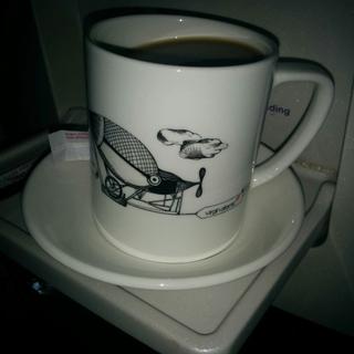 Virgin Atlantic coffee
