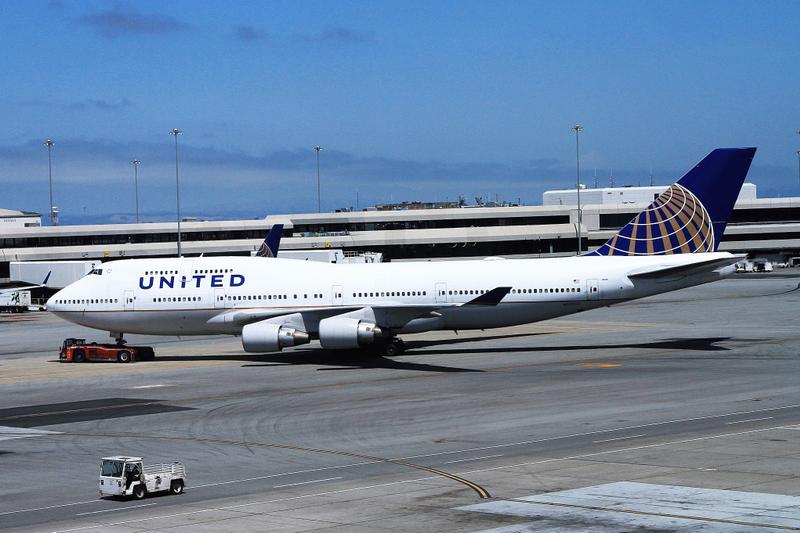 N120UA B747-422 United SFO 28-05-17