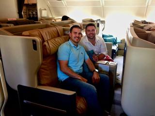 Singapore A380 Business Class