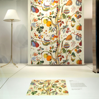 """Installation view of """"The Enduring Designs of Josef Frank"""""""