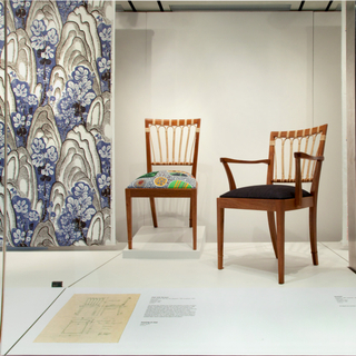 "Installation view of ""The Enduring Designs of Josef Frank"""