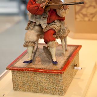 "Installation view of ""Automata: Mechanical Wonders of the Nineteenth Century"""