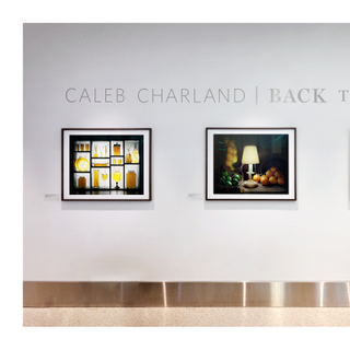 "Installation view of ""Caleb Charland: Back to Light"""