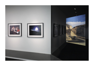 "Installation view of ""America in Color: 1940-1943"""