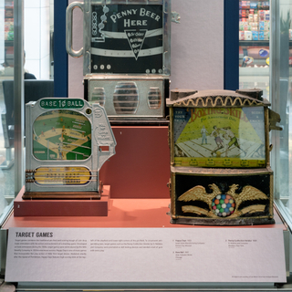 "Installation view of ""The Automatic Age: Coin-Operated Machines"""