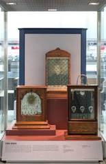 """Installation view of """"The Automatic Age: Coin-Operated Machines"""""""