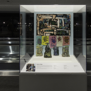 "Installation view of ""Celebrating a Vision: Art & Disability"""