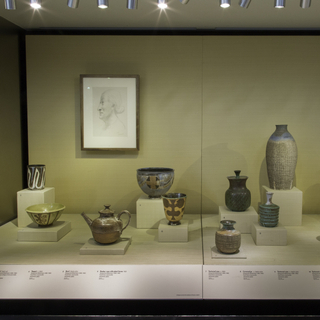 "Installation view of ""A Potter's Life: Marguerite Wildenhain at Pond Farm"""