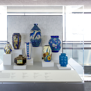 """Installation view of """"Life and Style in the Age of Art Deco"""""""