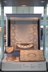 "Installation view of ""Lace: A Sumptuous History (1600s-1900s)"""