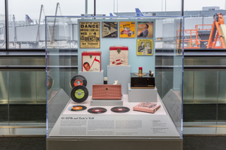 "Installation view of ""The Modern Consumer – 1950s Products and Styles"""