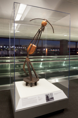"""Installation view of """"The Art of Recology: The Artist in Residence Program 1990-2013"""""""