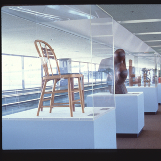 "Installation view of ""Artist's Furniture: New Dimensions and Statements in Design"""