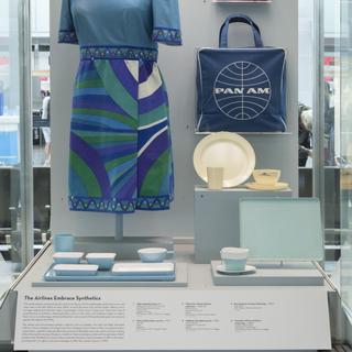 "Installation view of ""Classic Plastics: 1870s-1970s"""