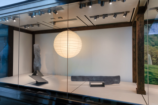 "Installation view of ""Isamu Noguchi: Inside and Out"""