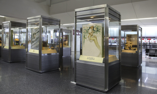 """Installation view of """"The Allure of Art Nouveau:1890-1914"""""""