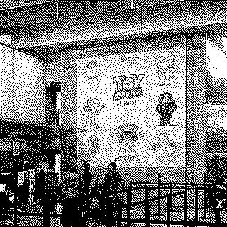 "Installation view of ""Pixar's Toy Story"""