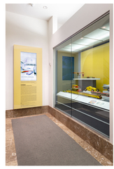 """Installation view of """"Streamlines: Aerodynamic Consumer Designs for the Air Age"""""""