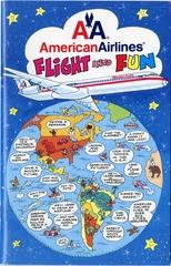 children's in-flight activity book: American Airlines
