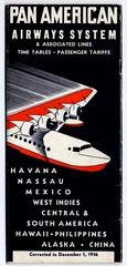 timetable: Pan American Airways, Sikorsky S-42