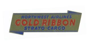 sticker: Northwest Airlines