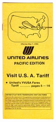 fare schedule: United Airlines