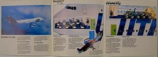 brochure: UTA (Union de Transports Aériens), Boeing 747-200