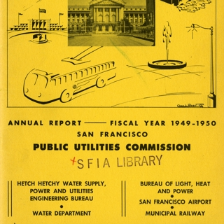 annual report: San Francisco Public Utilities Commission, 1949/1950 [1 issue: 1949/1950]
