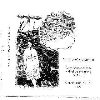 airmail flight cover: Commemorative flight cover for Romanian pilot Smaranda Braescu (digital image)