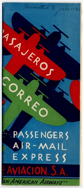 timetable: Pan American Airways, Mexican Aviation Company