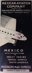 timetable: Mexican Aviation Company, Pan American Airways