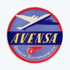 luggage label: Avensa